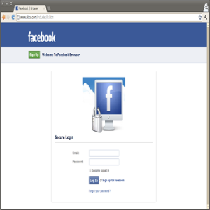 EX : Facebook Phishing Page