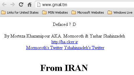 NIC Turkmenistan Domain Namesdefaced