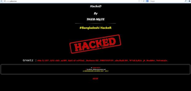 Malawi Google ,MSN, Yahoo domains defaced by TiGER-M@TE