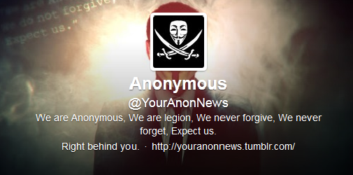Anonymous Going Mainstream Following Website Funding