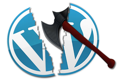 Wordpress site attacked by cybercriminals